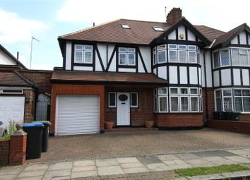Thumbnail 5 bedroom semi-detached house to rent in Wynchgate, Southgate
