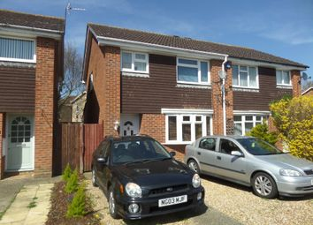Thumbnail 3 bed semi-detached house for sale in Goldsmith Drive, Newport Pagnell, Buckinghamshire