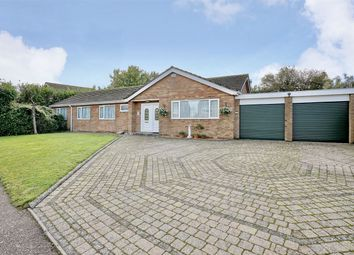 Thumbnail 4 bed detached bungalow for sale in Glebe Road, Perry, Huntingdon