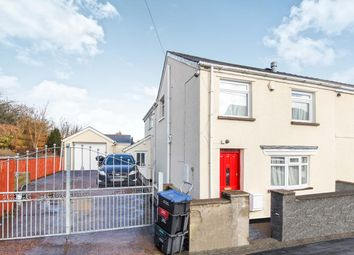 Thumbnail 3 bed semi-detached house for sale in Chandlers Road, Beaufort, Ebbw Vale