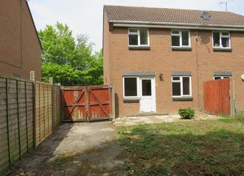 Thumbnail 3 bed semi-detached house for sale in Manton Close, Hamworthy, Poole