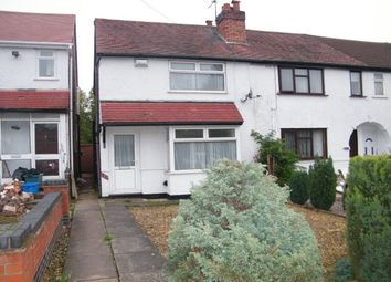 Thumbnail 2 bed end terrace house to rent in Bells Lane, Kings Norton, Birmingham