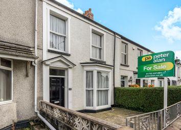 Thumbnail 3 bedroom terraced house for sale in Dillwyn Road, Sketty, Swansea