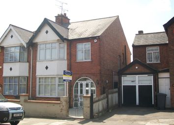 Thumbnail 3 bedroom property to rent in Ashleigh Road, Leicester