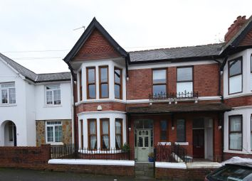 Thumbnail 4 bedroom terraced house for sale in Burlington Terrace, Cardiff