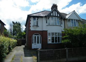 Thumbnail 3 bed semi-detached house for sale in Cromwell Road, Northwich, Cheshire