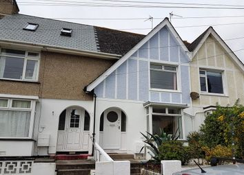 Thumbnail 2 bed terraced house to rent in Trevethan Road, Falmouth