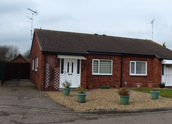 Thumbnail 2 bed semi-detached bungalow for sale in Pheasant Grove, Peterborough