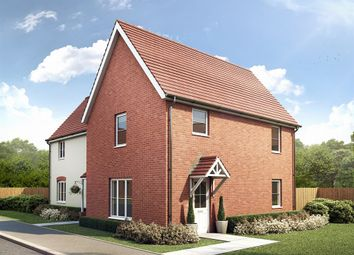 "Thumbnail 3 bed semi-detached house for sale in ""The Birkhall "" at Carsons Drive, Great Cornard, Sudbury"