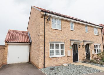 Thumbnail 3 bed semi-detached house to rent in Harrington Road, Irthlingborough, Wellingborough