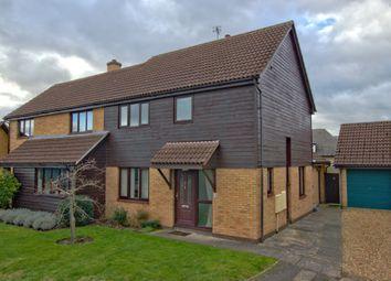 Thumbnail 3 bed semi-detached house for sale in Lingrey Court, Trumpington, Cambridge