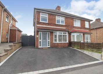 Thumbnail 3 bed semi-detached house for sale in Buxton Road, Chaddesden, Derby