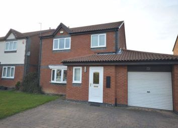Thumbnail 3 bed detached house for sale in Blueburn Drive, Killingworth, Newcastle Upon Tyne