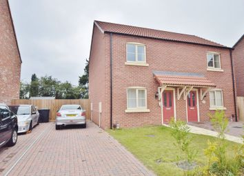Thumbnail 2 bed semi-detached house to rent in Mendip Avenue, North Hykeham