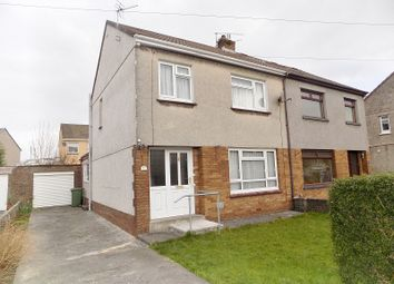 Thumbnail 3 bed semi-detached house for sale in Greenwood Close, Litchard, Bridgend.