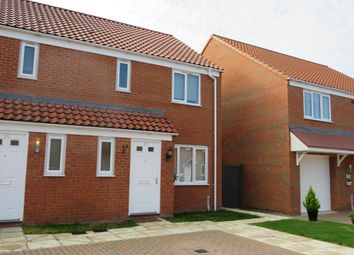 Thumbnail 3 bed property to rent in Harrow Drive, Beck Row, Bury St. Edmunds