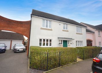 Thumbnail 4 bedroom detached house for sale in Fayrewood Drive, Great Leighs, Chelmsford
