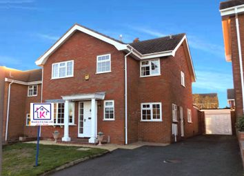 Thumbnail 4 bed detached house for sale in Fallowfield Drive, Barton Under Needwood, Burton-On-Trent