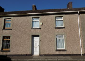 Thumbnail 3 bed terraced house for sale in Gallipoli Row, Taibach, Port Talbot, Neath Port Talbot.