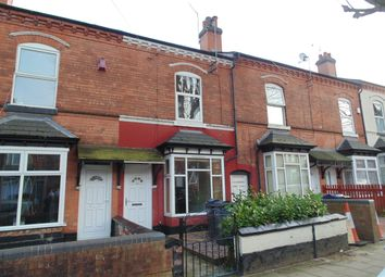 Thumbnail 3 bed terraced house to rent in Grosvenor Road, Handsworth Wood