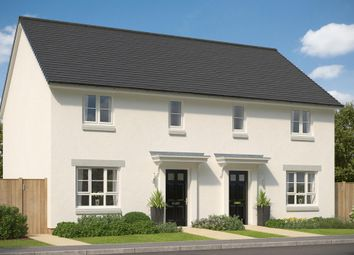 "Thumbnail 3 bed semi-detached house for sale in ""Traquair"" at Mey Avenue, Inverness"