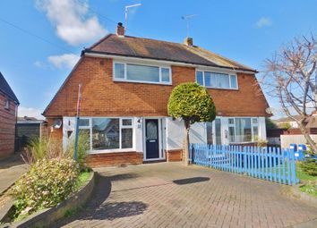 Thumbnail 2 bedroom semi-detached house for sale in Woodville Road, Bedhampton, Havant