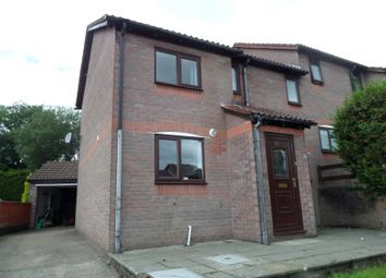 Thumbnail 3 bed semi-detached house to rent in 52 Chandlers Reach, Pontypridd