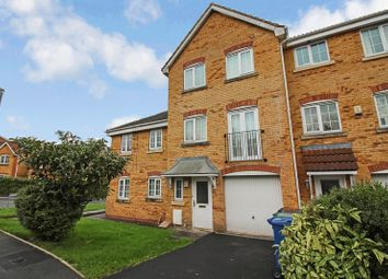 Thumbnail 4 bed town house for sale in Tunstall Close, Bury