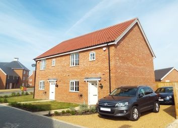Thumbnail 3 bedroom property to rent in Baileys Loke, Stalham, Norwich