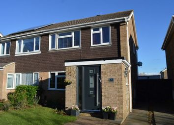 Thumbnail 3 bedroom semi-detached house for sale in Spanslade Road, Standens Barn, Northampton