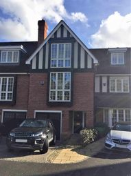 Thumbnail 4 bed town house for sale in Admiral Close, Weybridge