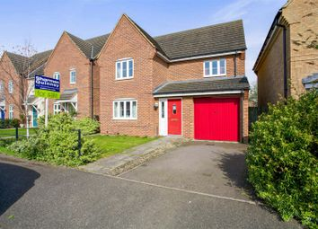 Thumbnail 4 bedroom detached house for sale in Heron Way, Benwick, March