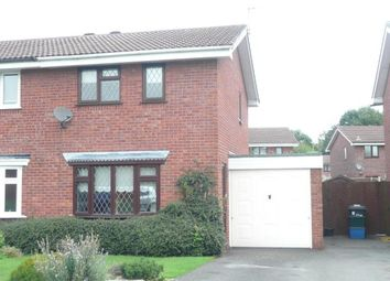 Thumbnail 2 bedroom semi-detached house to rent in St. Andrews Drive, Perton, Wolverhampton
