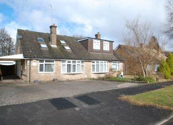 Thumbnail 3 bed semi-detached bungalow for sale in Rushfield Road, Liss