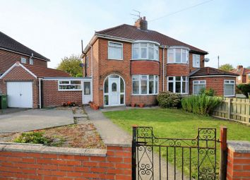 Thumbnail 3 bed semi-detached house for sale in 115 Heslington Lane, York
