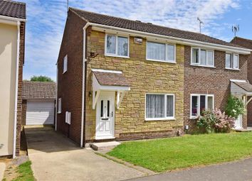 Thumbnail 3 bed semi-detached house for sale in Julien Place, Willesborough, Ashford, Kent