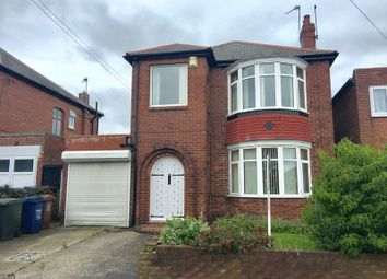 Thumbnail 3 bed detached house to rent in Rosewood Gardens, Kenton, Newcastle Upon Tyne