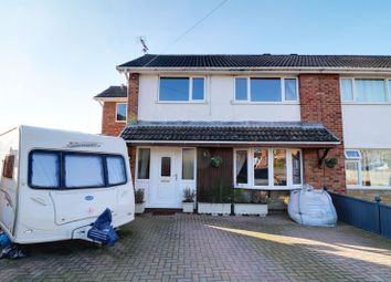 Thumbnail 4 bed semi-detached house for sale in Woodclose Road, Scunthorpe