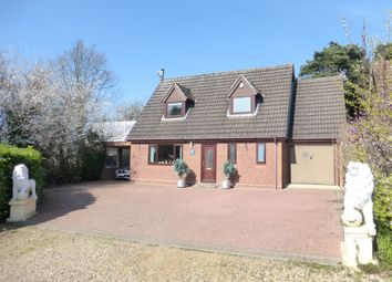 Thumbnail 4 bed detached house for sale in Woods Close, Hellesdon, Norwich