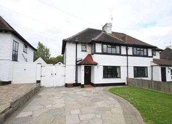 Thumbnail 3 bed semi-detached house for sale in Fairway, Petts Wood, Orpington, Kent