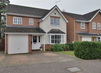 Thumbnail 4 bed detached house for sale in Quinn Way, Letchworth, Garden City, Hertfordshire