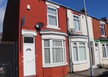 Thumbnail 2 bed end terrace house to rent in Kildare Street, Middlesbrough
