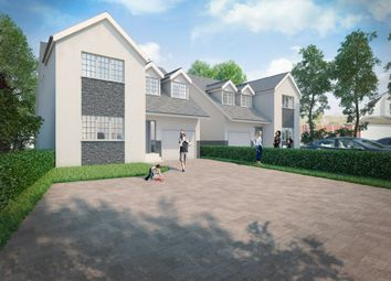 Thumbnail 4 bed detached house for sale in Hawkwell Road, Hockley