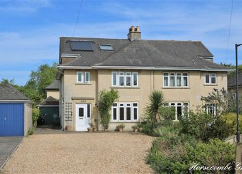 Thumbnail 4 bed semi-detached house for sale in Horsecombe Grove, Combe Down, Bath