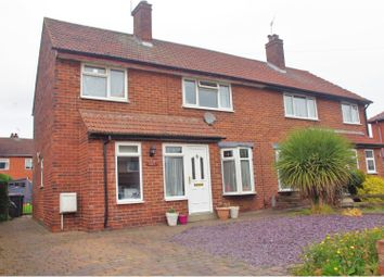 Thumbnail 3 bed semi-detached house for sale in Manor Road, Knaresborough