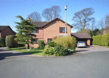 Thumbnail 4 bed detached house for sale in Leighton Park, Parkgate, Neston