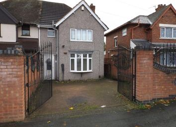 Thumbnail 3 bed semi-detached house for sale in Pine Street, Walsall, West Midlands