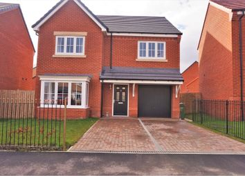 Thumbnail 4 bed detached house for sale in Poppy Drive, Blyth