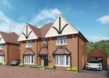 "Thumbnail 4 bed detached house for sale in ""The Clarence"" at Lower Road, Chalfont St. Peter, Gerrards Cross"