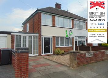 Thumbnail 3 bed semi-detached house to rent in Elm Road, Kirkby, Liverpool